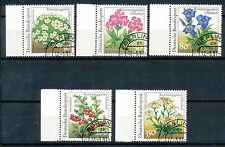 Bundespost 1505 - 1509 gestempeld (2)  Bloemen