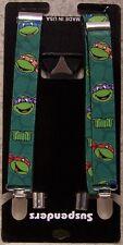 "Suspenders Children & Junior 1""x36"" FULLY Elastic Teenage Mutant Ninja Turtles"