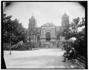Cathedral,religious buildings,Santiago de Cuba,Detroit Publishing Company, 7388