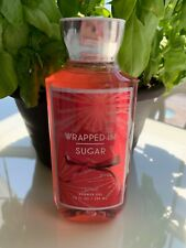 Bath & Body Works Wrapped In Sugar Soft Marshmallow Shower Gel 10oz Full Size