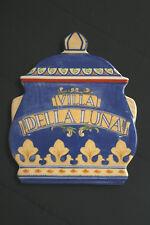 Ceramic Trivet Pfaltzgraff Villa Della Luna 2004 Pot Shape Blue Yellow Orange
