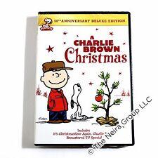 A Charlie Brown Christmas DVD New Set 50th Annivesary