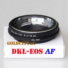 Af dkl-eos Adaptador Para Voigtlander Retina Edición Lente Para Canon Eos Ef Mount dkl-eos