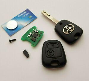 Genuine Toyota Aygo 2 Button Remote Key Fob 73373067D , @03