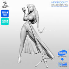 1/32 Figure a modern song female Unassembled resin scale 65 mm model