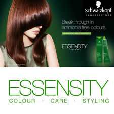 schwarzkopf essensity hair color 60ml organic permanent ammonia free colour