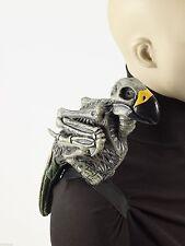 "12"" Zombie Pirate Shoulder Parrot Strap-on Halloween Costume Accessory Prop Bird"