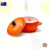 Mini Pot by Re-Ment Orange - Miniature dollhouse 1:12 Little Shop Mini Brands