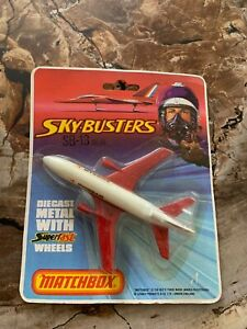 MATCHBOX, SKY-BUSTERS ,SB-13 DC-10, SWISSAIR, in package, 1974, Made in England