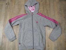 Adidas hermosas kapuzensweatjacke tenis Minnie gris talla 140 top st118
