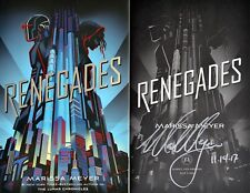 Marissa Meyer~SIGNED & DATED~Renegades~1st/1st + Photos!