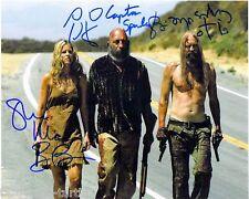 The Devil's Rejects Cast 8 x 10 Autograph Reprint Sid Haig Sheri Moon Zombie +1