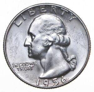 Unc BU MS 1956-D - US Washington 90% Silver Quarter Coin Set Break *773