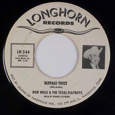 BOB WILLS & TEXAS PLAYBOYS: Buffalo Twist US Longhorn Western Swing 45 Promo