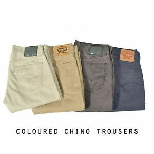 LEVIS CHINO TROUSERS STRAIGHT LEG GRADE A W30 W32 W34 W36 W38 W40
