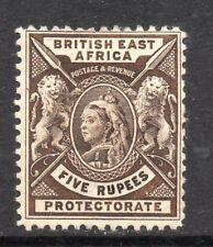 More details for b.e.a.: 1896-1901 qvi 5 rupees sg 79 mint