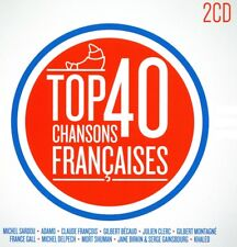 Top 40 : Chansons Françaises / French Popular Songs (2 CD)