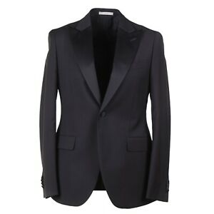 Boglioli Black Wool and Mohair Tuxedo with Peak Lapels 40R (Eu 50) NWT Suit