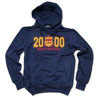 HAKA New Zealand Rugby Est 2000 Hooded Sweatshirt M - XXL Navy