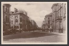 Postcard Inverness Highland Scotland view of Academy Street posted 1929 RP