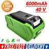 40V 6000MAH Li-ion Battery For Greenworks G-MAX 29462 20302 20672 20202 22332 GM