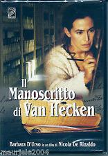 Il manoscritto di Van Hecken (1998) DVD NUOVO Barbara D'Urso Gaetano Amato Di Ri