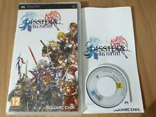 DISSIDIA FINAL FANTASY SONY PSP GAME! WITH MANUAL, PAL UK