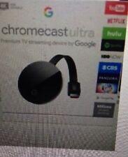 "THIS MONTH""S SPECIAL!! Google Chromecast Ultra Media Streamer - Black NEW!!"