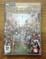 Civilization IV WARLORDS Add-On Expansion Pack PC CD Rom CIV 4 Free UK P&P