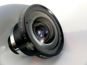 "TAMRON TV 4.5mm F2.0 Fast Ultra-Wide C-Mount M25 RARE Clean Tested 1"" coverage"