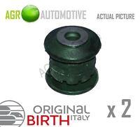 2 x BIRTH FRONT AXLE CONTROL ARM WISHBONE BUSH PAIR OE QUALITY REPLACE 2514