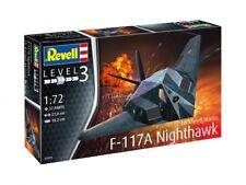 Lockheed Martin F-117A Nighthawk Stealth, Revell Flugzeug Bausatz 1:72, 03899