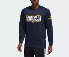 NEW! Adidas Nashville Predators Squad Crew Sweatshirt Sz Medium D78611 $90