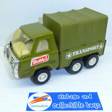 Buddy L Corp. | Vintage Military Transport Truck Army Green Steel Japan
