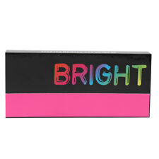 Set of 2 Eye Shadow Palettes- Bright Colors, Includes Primer + Applicator  by Fi