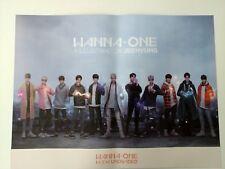Wanna One - 1÷χ=1 (Undivided) Art Book Ver. Official Poster New K-POP