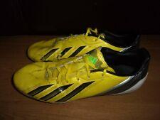 Adidas F10 TRX FG Lightweight Yellow & Black football boots size 10.5