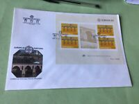 Portugal 1984  Large Stamp Sheet  Stamps Cover Ref 52294