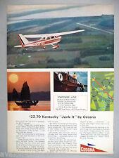 Cessna Airplane Plane PRINT AD - 1964 ~~ aircraft