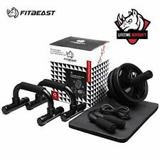 3-in-1 Ab Abdominal Exercise Roller Set