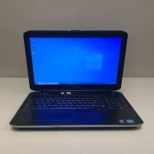 """Dell Latitude E5530 15"""" Laptop Core i5-3380M 2.90GHz 4GB RAM 320GB HDD Win10"""