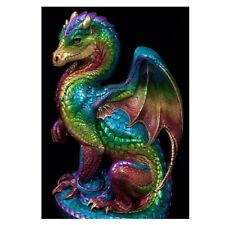 KQ_ Dragon Pentagram DIY 5D Diamond Embroidery Painting Cross Stitch Home Art De