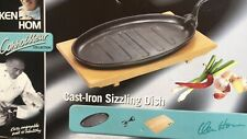 ken hom cast iron sizzling dish Used Once