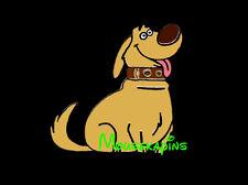 UP Golden Retriever Dog DUG I have Just Met You & I LOVE YOU Disney 2009 Pin