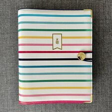 2021 Emily Ley Simplified Planner Happy Stripe Binder