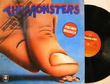 """THE MONSTERS"" lp promo  FRANK ZAPPA PINK FLOYD SPRINGSTEEN POLICE STING mint"