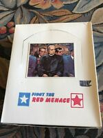 1985 FTCC RARE Fight The Red Menace 36 Wax Packs in Mint Cond MY LAST 3 BOXES