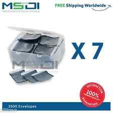 3500 x Barrier Envelopes for phosphor plates canner sizes: 2, 1 , 0