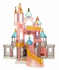 NEW DISNEY PARKS PRINCESS CASTLE PLAY SET LIGHT UP DOLL HOUSE CINDERELLA AURORA