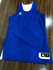 New Women's Crazy Explosive Reversible Jersey Royal/White  Size Small Cd8666